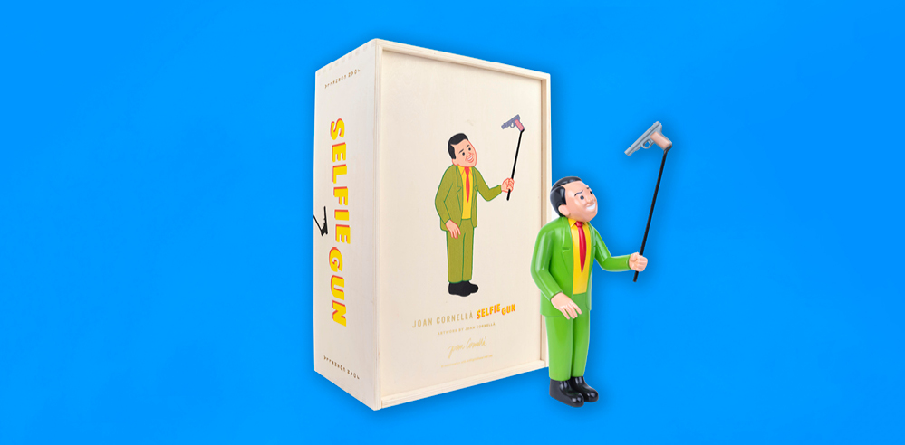 Selfie Gun loaded with Spanish artist Joan Cornellà's dark humour