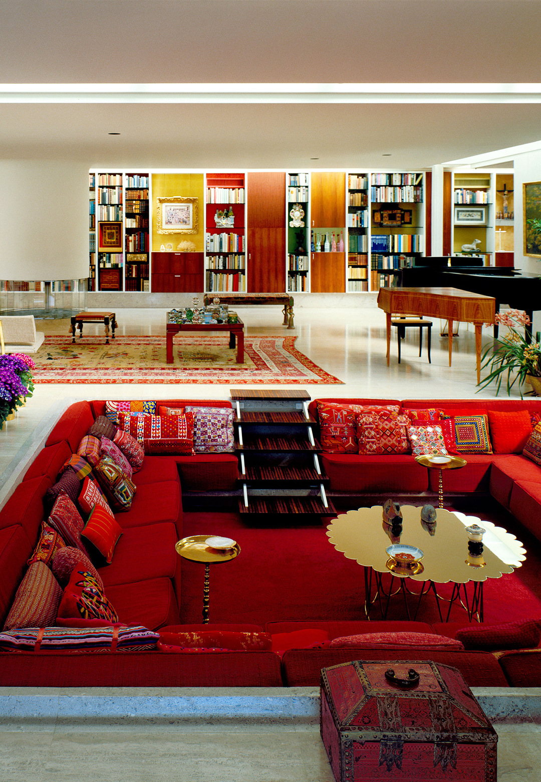 Miller House, a mid-century modern home designed by Alexander Girard | Alexander Girard: A Designer's Universe | Alexander Girard | STIRworld