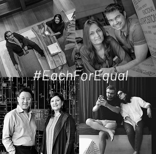 Architect duos share their #EachforEqual motto on International Women's Day