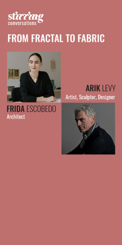 Arik Levy and Frida Escobedo: manifesting masterpieces from the molecular