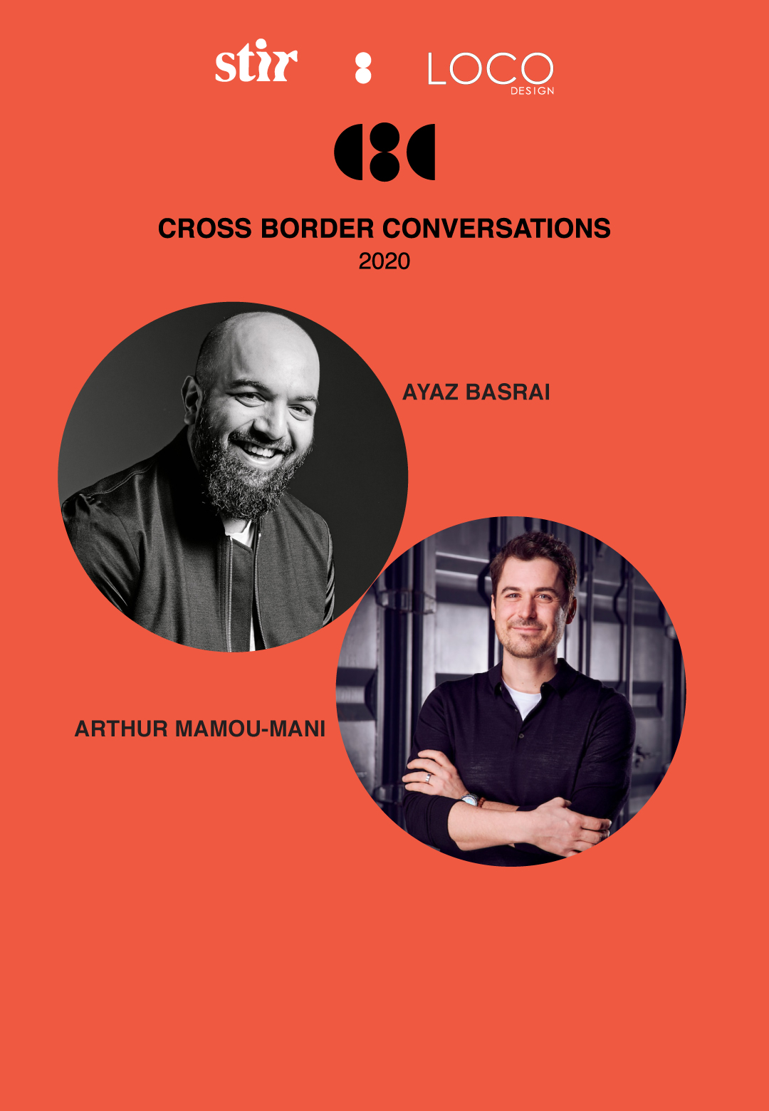 Arthur Mamou-Mani X Ayaz Basrai: Cross Border ConversationsCross Border Conversations: Arthur Mamou-Mani X Ayaz Basrai | Temple Run into the Future | STIR X LOCO Design