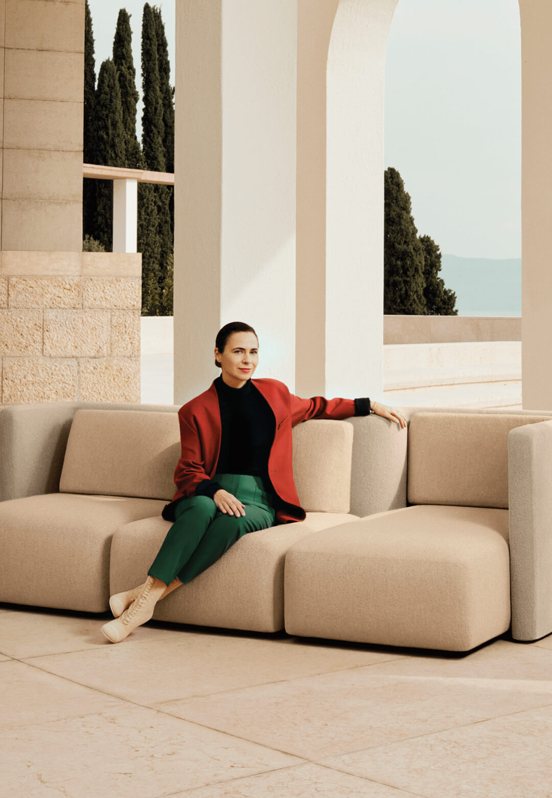 Cristina Celestino speaks with STIR about her collaborations with fashion brands like Fendi and Sergio Rossi as well as her own brand Attico Design | Gala Seating System| Cristina Celestino  | STIRworld