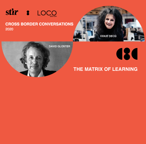 Cross Border Conversations: David Gloster X Odile Decq