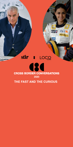 Frank Stephenson X Gul Panag: Cross Border Conversations