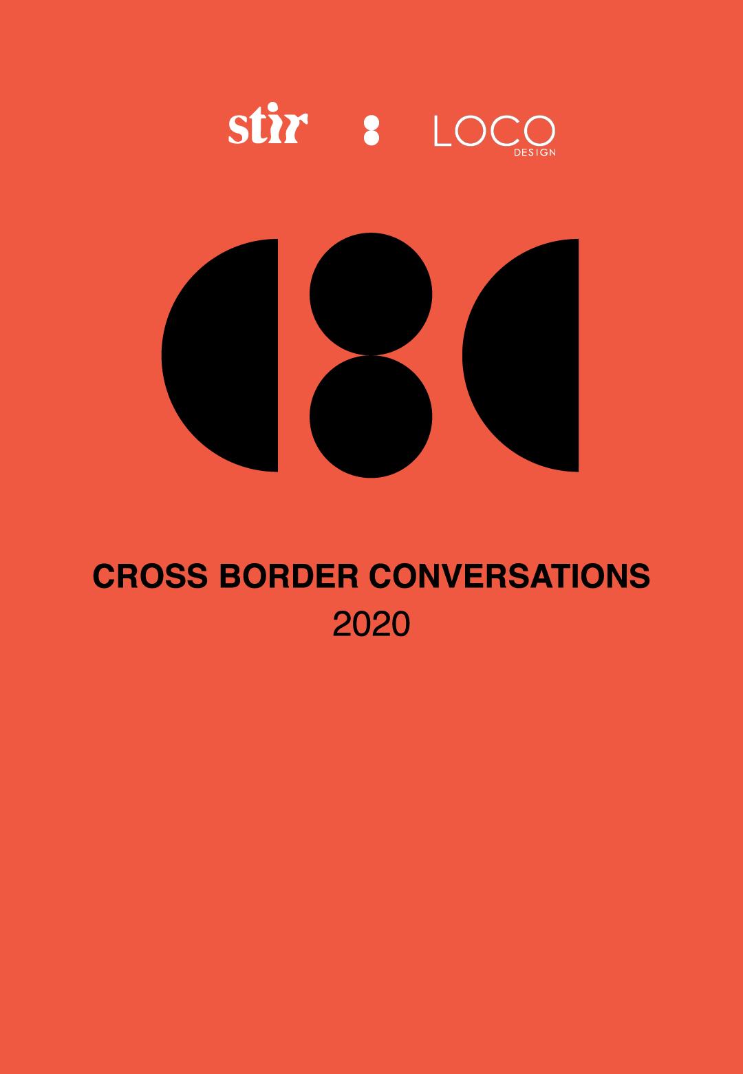 Cross Border Conversations | STIR X LOCO Design | STIRworld