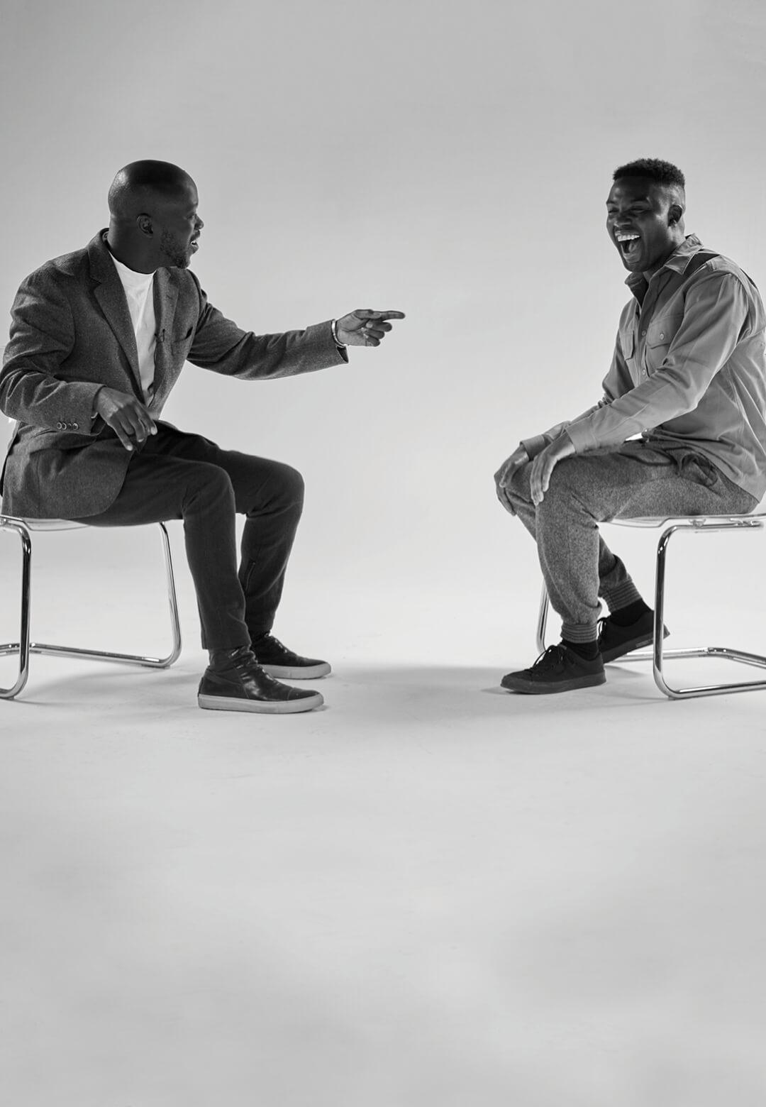 David Adjaye and Adam Pendleton in conversation | Untitled (We are not) | David Adjaye & Adam Pendleton | STIRworld