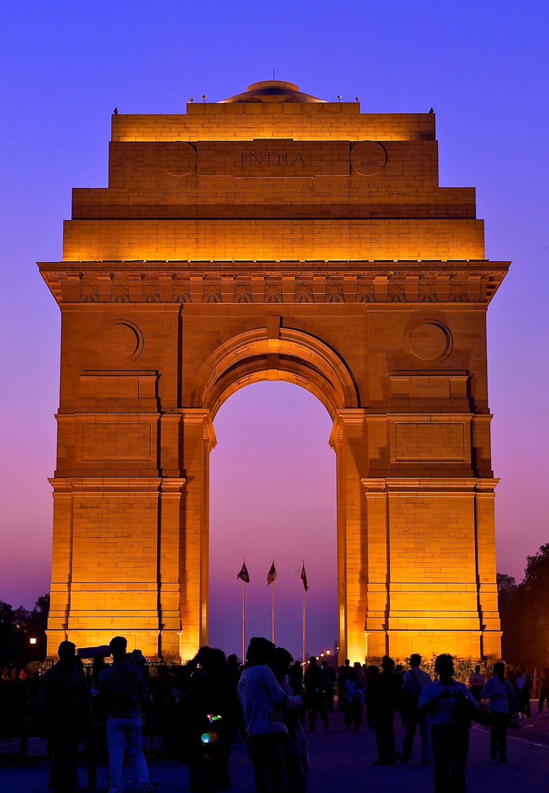 India Gate in Delhi, India built by English architect Sir Edwin Lutyens | Edwin Lutyens | STIRworld
