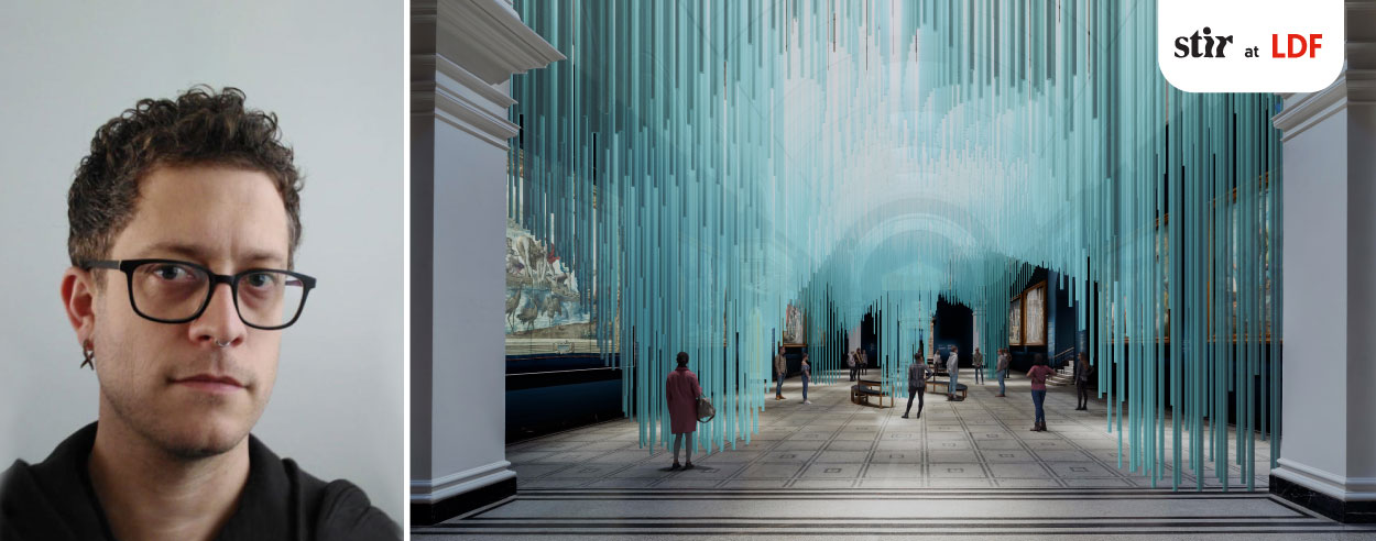 Experience the mixed reality of 'Medusa' at the London Design Festival