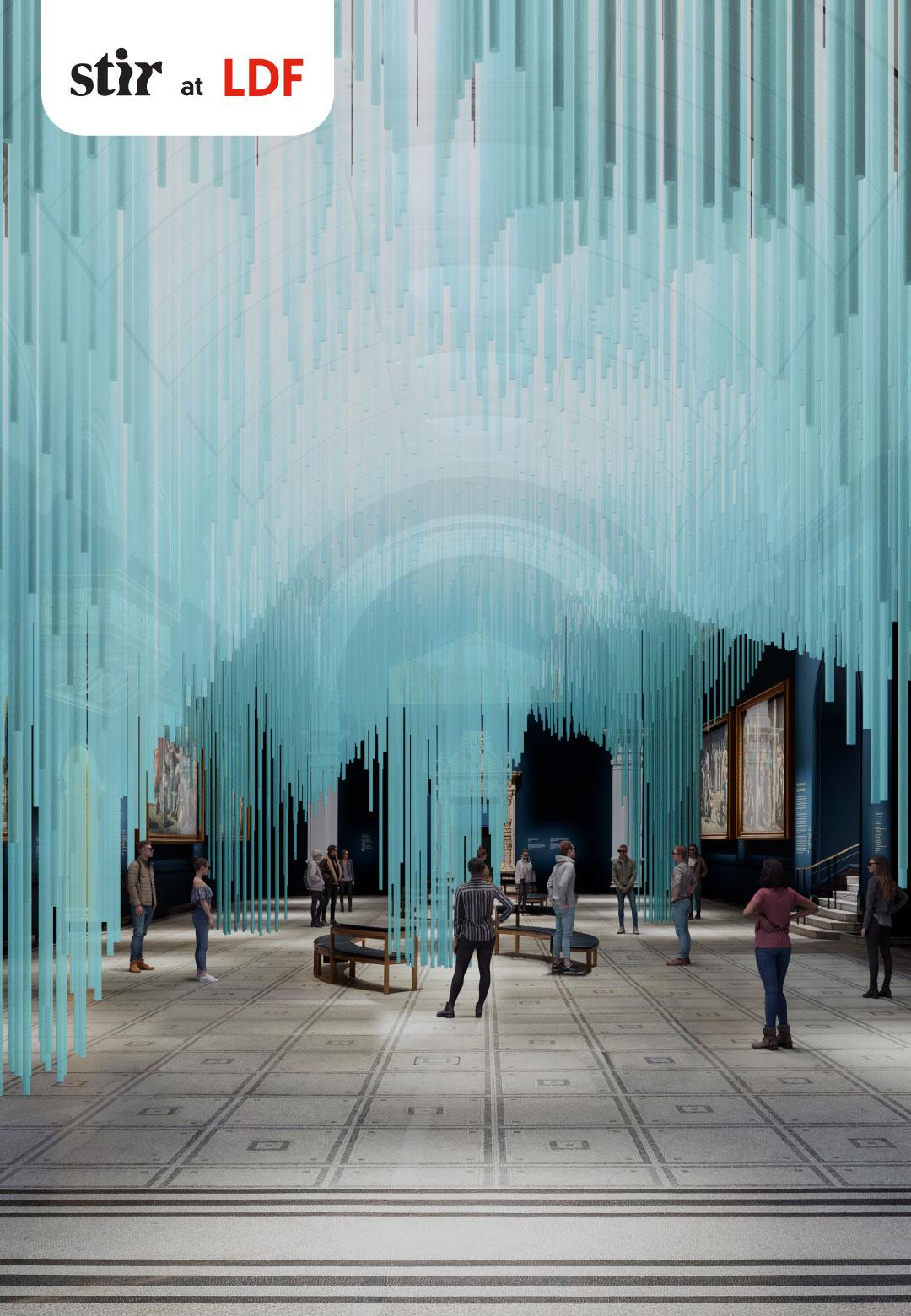 Yoyo Munk, Director of Medusa; a visualisation of Medusa    London Design Festival   Medusa   Tin Drum   Sou Fujimoto   Yoyo Munk   STIRworld