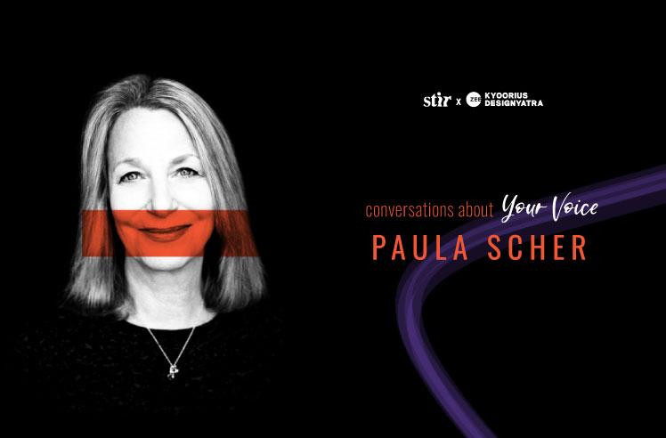 Design icon Paula Scher on embracing noise to recapture the creative edge
