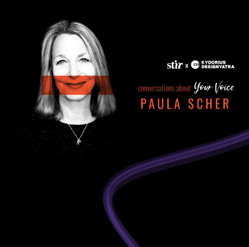 Design icon Paula Scher on embracing noise to recapture the creative edge