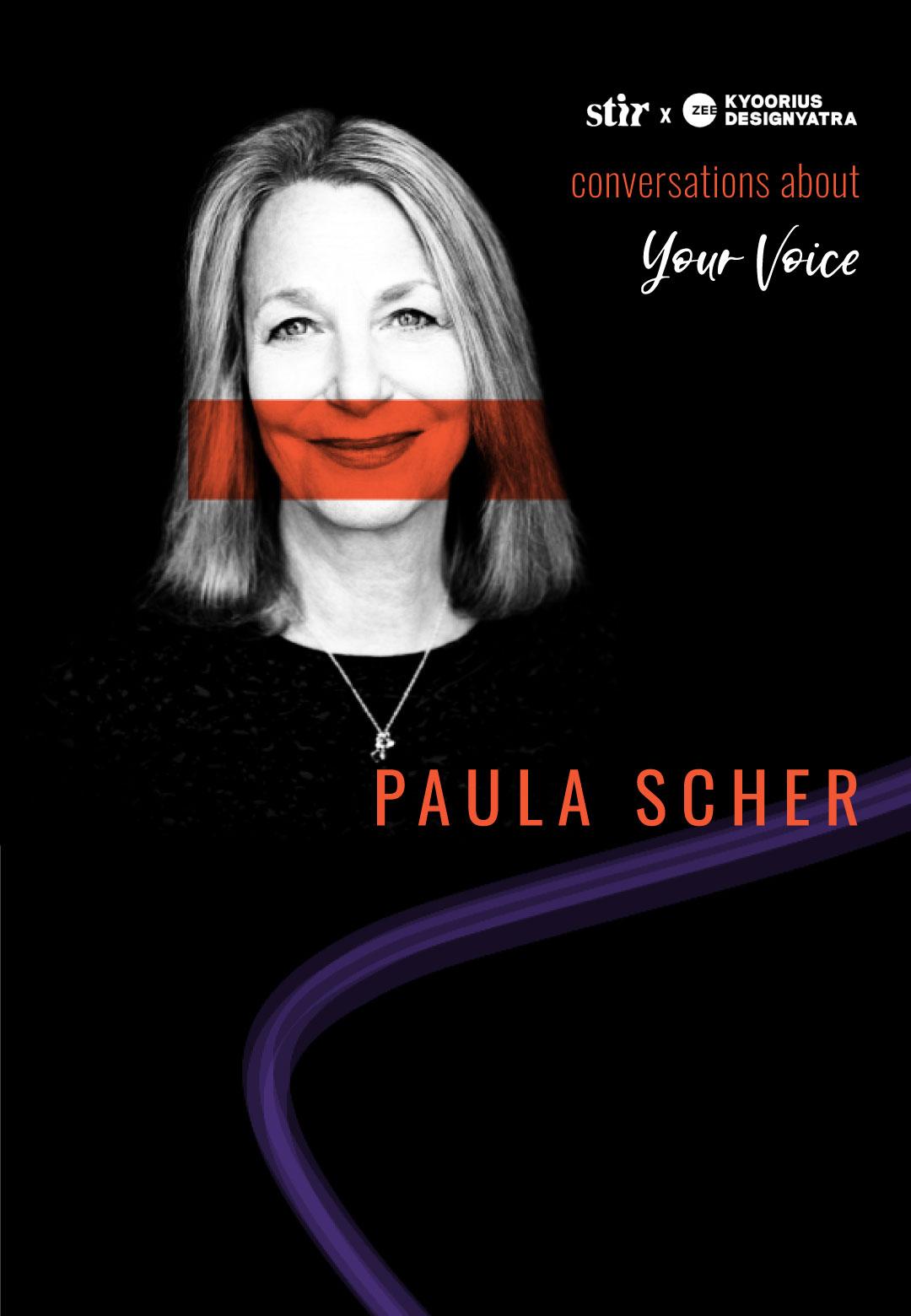 STIR in conversation with Paula Scher | Conversations About Your Voice | STIR X Kyoorius Designyatra 2020 | STIRworld