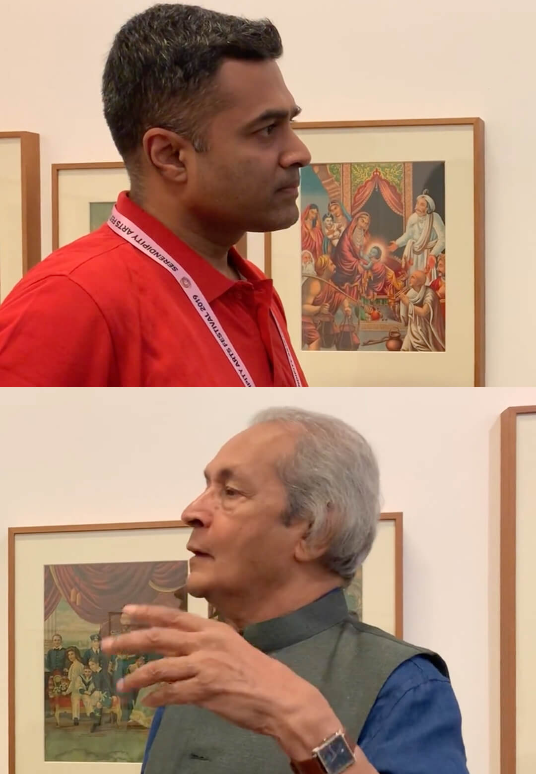 STIRring conversations at SAF'19 (Part 2) | Image Journey | Serendipity Arts Festival 2019 | Jyotindra Jain| STIRworld
