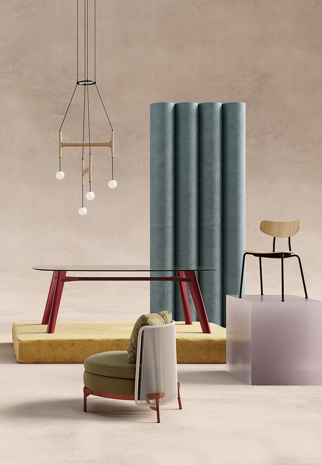 Studio Salaris for Design News 2020 - Living Corriere  Alessandra Salaris   STIRworld