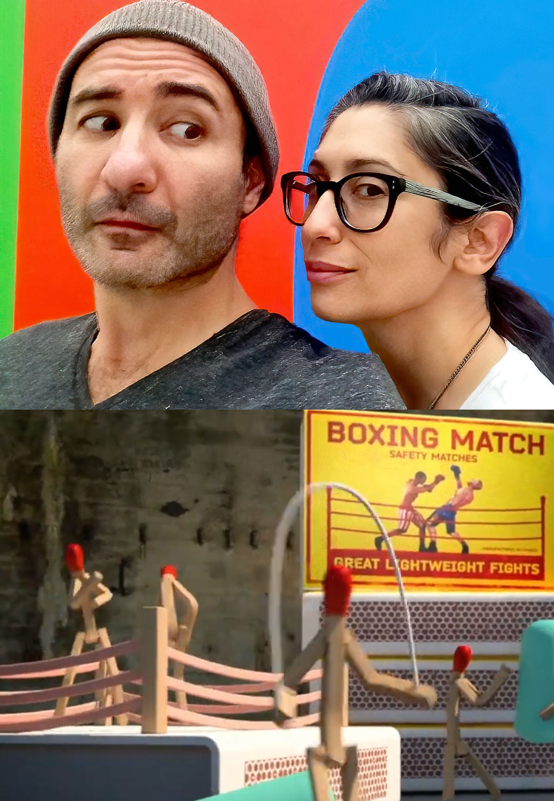 A still from Valentina Izaguirre and Juan Delcan's video which recently went viral on the internet | Safety Match | Juan Delcan | STIRworld