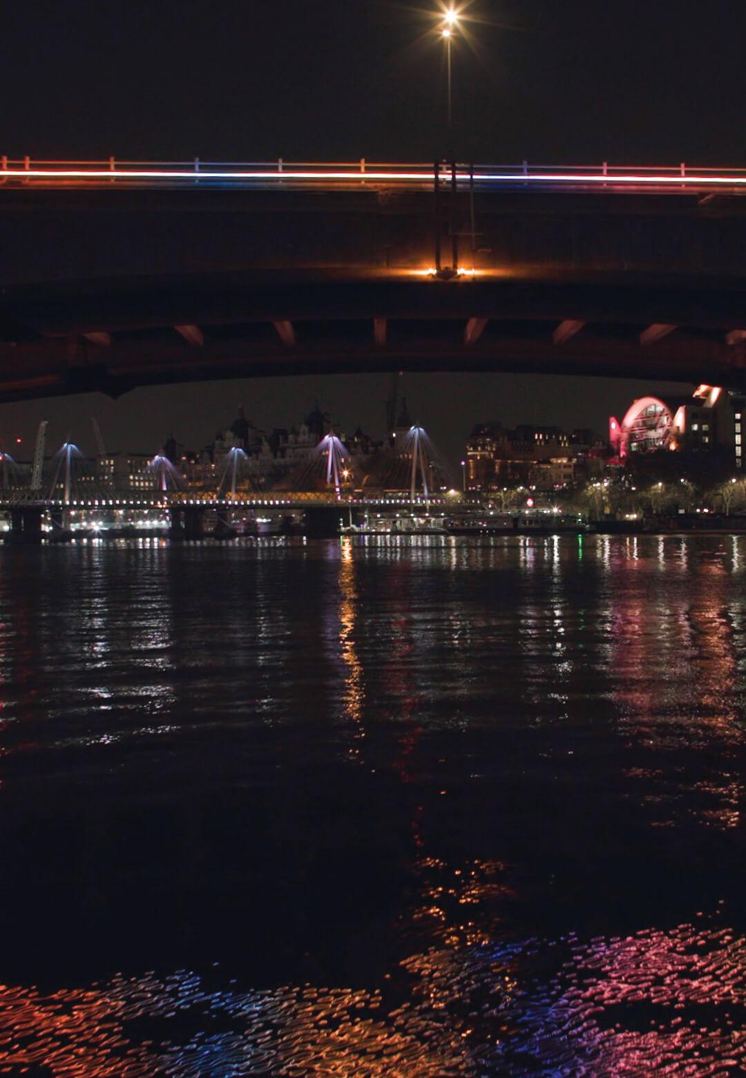 Waterloo Bridge, Illuminated River | Leo Villareal | STIRworld