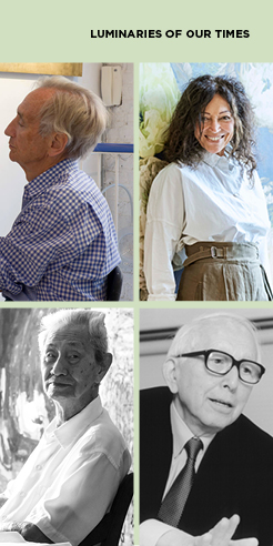 Luminaries of our times: Fumihiko Maki, Lim Tze Peng, Tricia Guild, Patrick Hughes...