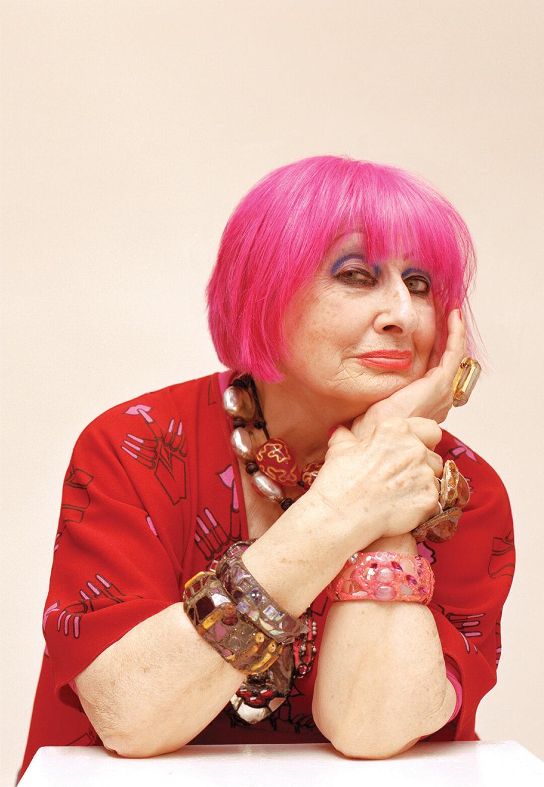 Textile designer Dame Zandra Lindsey Rhodes | Luminaries of our Times | STIRworld