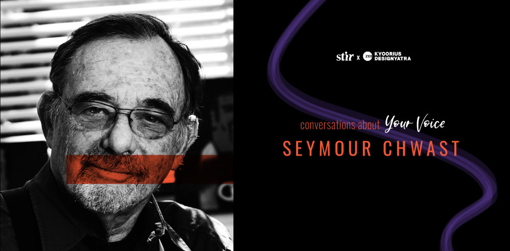 Master illustrator Seymour Chwast on getting ideas when creativity runs dry