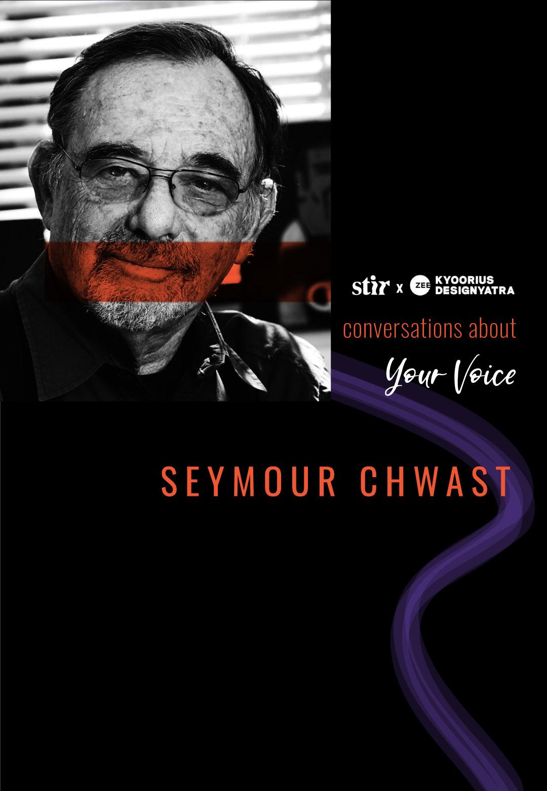 STIR in conversation with Seymour Chwast | Conversations About Your Voice | STIR X Kyoorius Designyatra | STIRworld