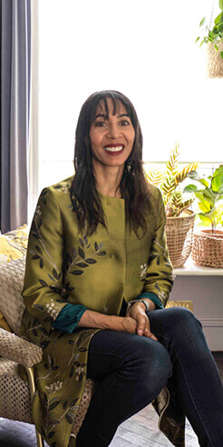 Michelle Ogundehin on mindful interior design and her happiness manifesto