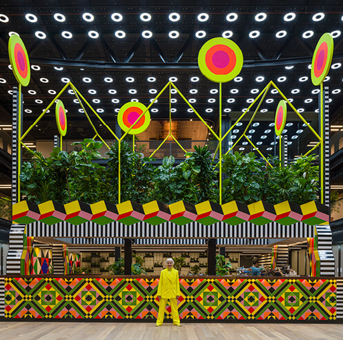 Morag Myerscough shares the story of engaging communities with her bold works