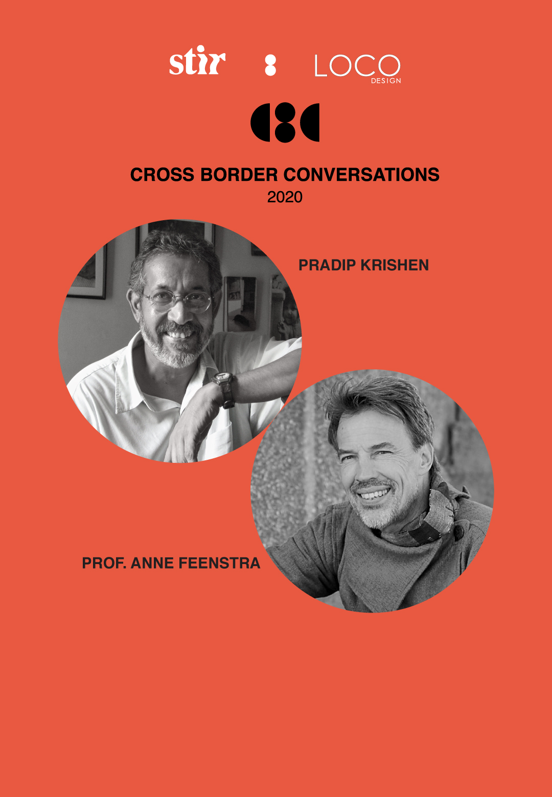 Cross Border Conversations | Pradip Krishen X Prof. Anne Feenstra | STIR X LOCO Design