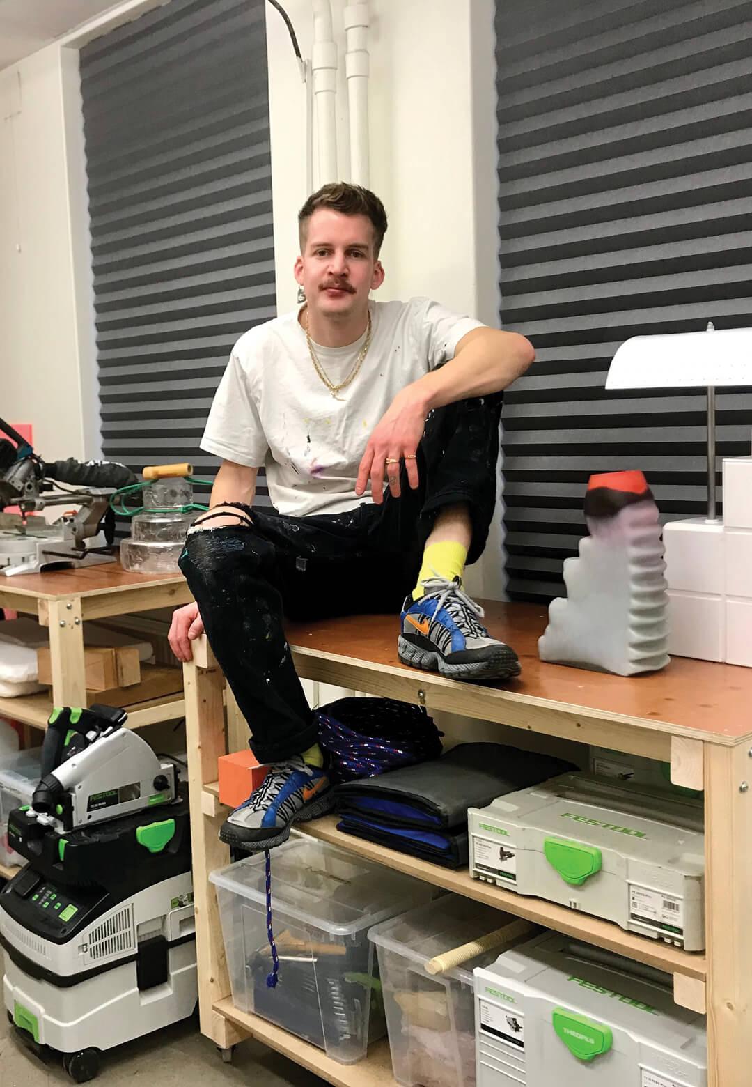 Swedish designer Jonatan Nilsson creates experimental products that challenge the status quo | Jonatan Nilsson | Jonatan Nilsson | STIRworld
