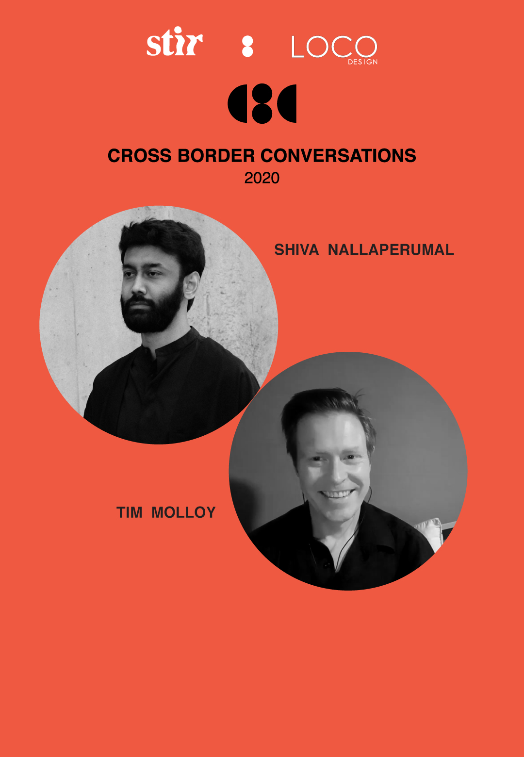 Cross Border Conversations | Shiva Nallaperumal X Tim Molloy | STIR X LOCO Design