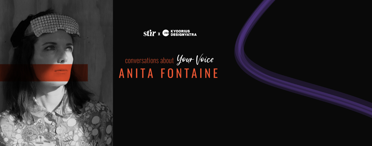Speculative future artist Anita Fontaine on 'slowing down' to feed the creative spirit