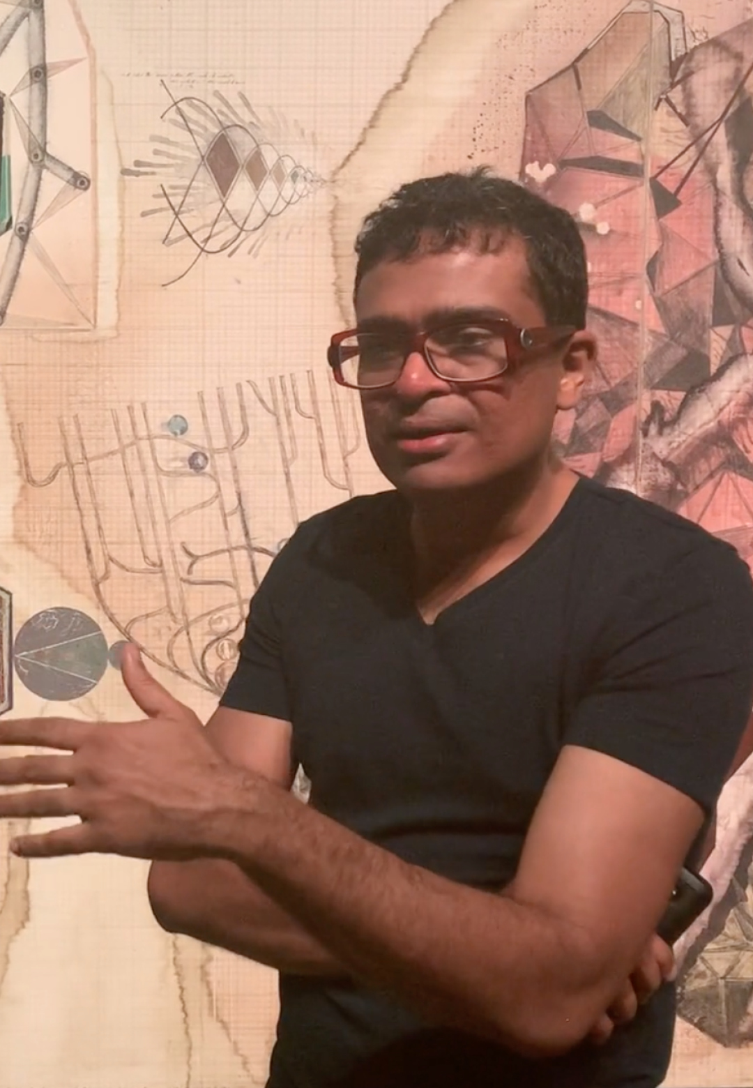 Contemporary Indian artist Jitish Kallat takes STIR through his show Terranum Nuncius | Terranum Nuncius | Jitish Kallat | STIRworld