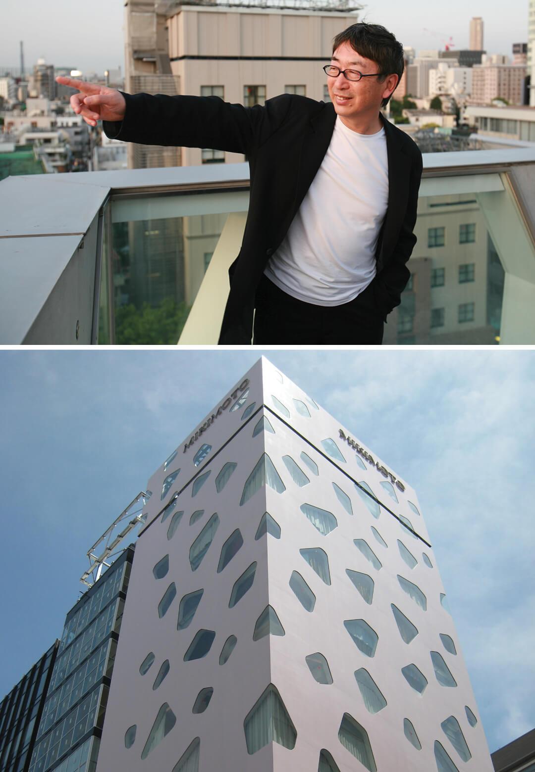 L: Toyo Ito; R: National Taichung Theater, Taiwan, 2014 | Toyo Ito 80th Birthday Tribute | STIRworld