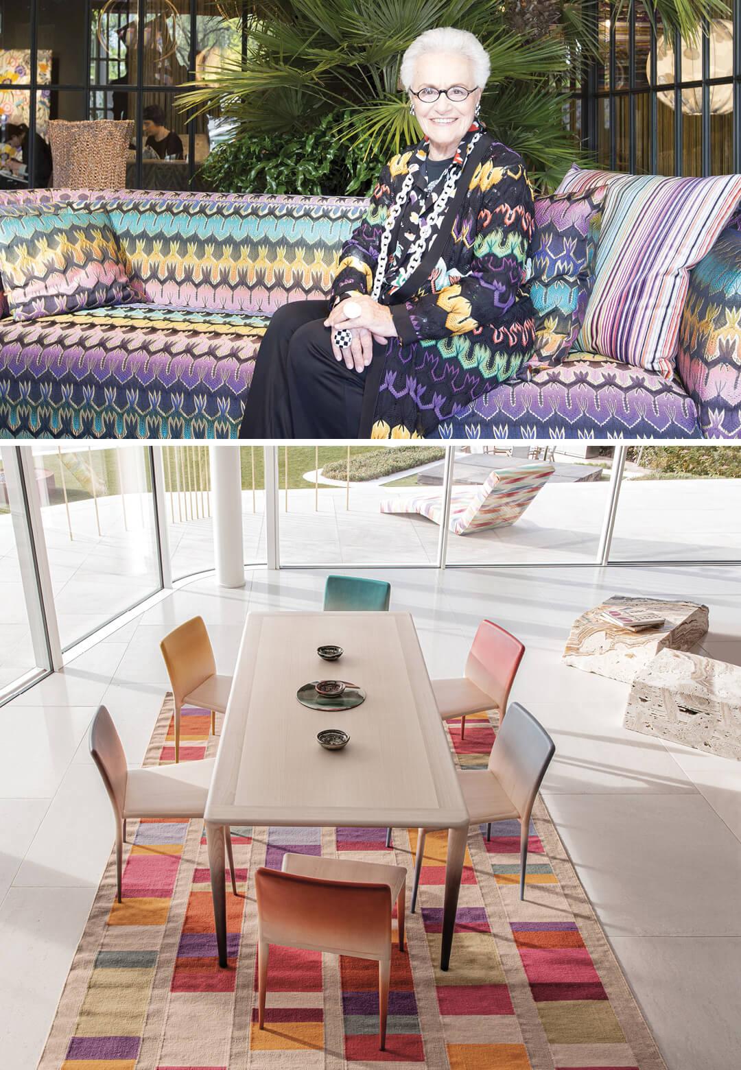 Rosita Missoni, acclaimed fashion designer and proprietor and co-founder of Italian luxury fashion brand Missoni speaks about MissoniHome 2021 collection| Missoni Home 2021: Interview with Rosita Missoni | STIRworld