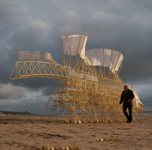 Theo Jansen on his passion for developing <em>strandbeests</em> into ever evolving creatures
