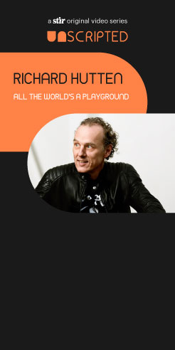 UNSCRIPTED with Richard Hutten: All the World's a Playground