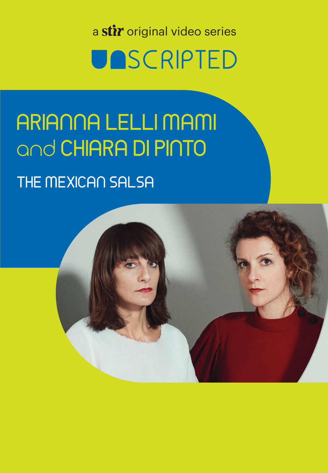 UNSCRIPTED with Arianna Lelli Mami and Chiara Di Pinto of Studiopepe | Studiopepe | UNSCRIPTED | STIRworld