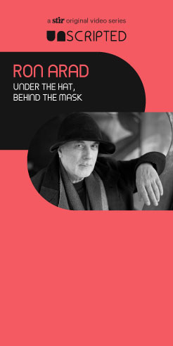 UNSCRIPTED with Ron Arad: Under the Hat, Behind the Mask