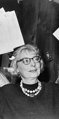 Writer-urbanist Jane Jacobs and her tryst with urban design and American cities