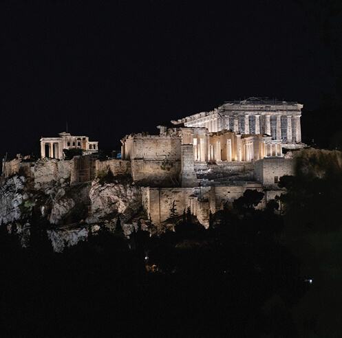A beacon of hope: Acropolis of Athens gets a new life with redesigned lighting