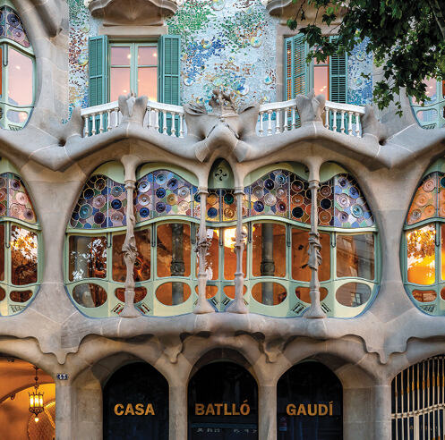 A look back at Antoni Gaudi's bold and magical design for Casa Batllo in Spain