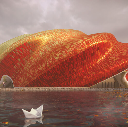 A study in silk: Guangzhou Show Theatre by Steven Chilton Architects