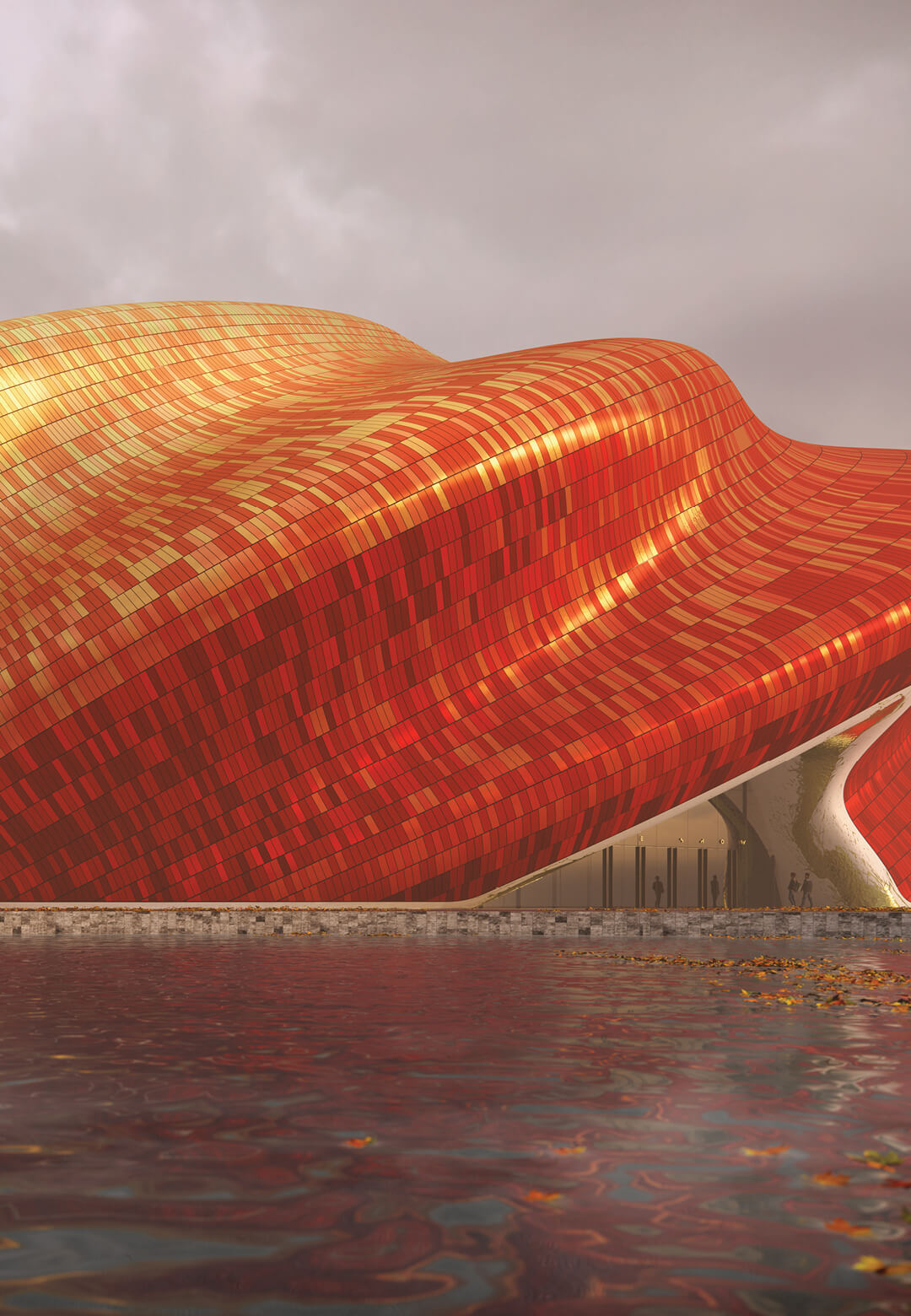 The Guangzhou Show Theatre by Steven Chilton Architects   STIRworld