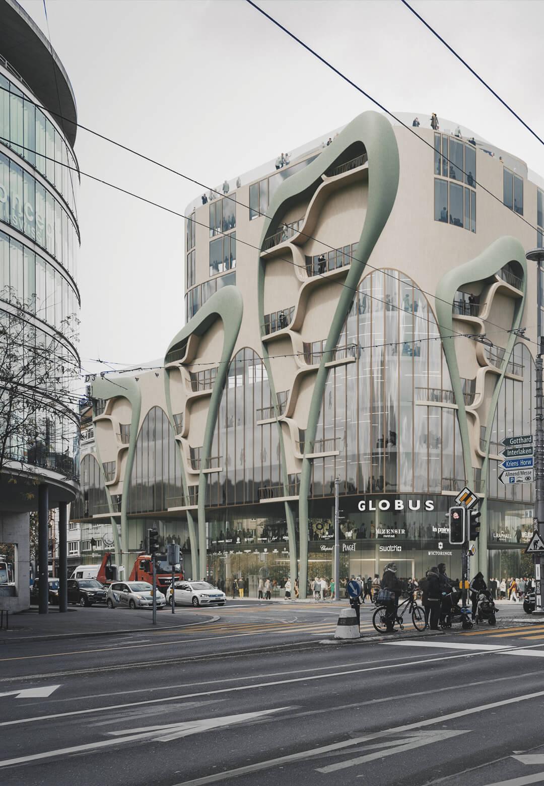 The Alpen-Akelei Haus in Lucerne, Switzerland, by SIAMAK Living Architecture | Alpen-Akelei Haus by SIAMAK Living Architecture | STIRworld