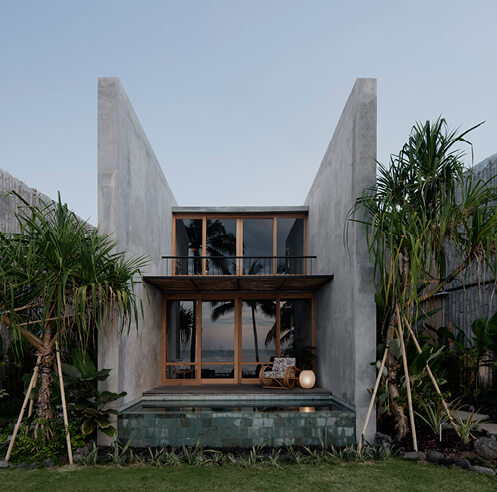 Nic Brunsdon imbibes rugged regionalism into luxury resort The Tiing in Bali
