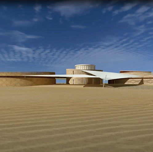 Architecture that nurtures, heals, protects: the Gyaan Center in Jaisalmer