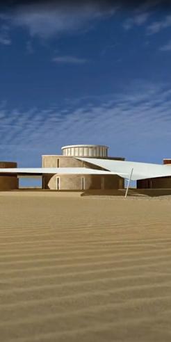 Architecture that nurtures, heals, protects: the Gyaan Center in Jaisalmer