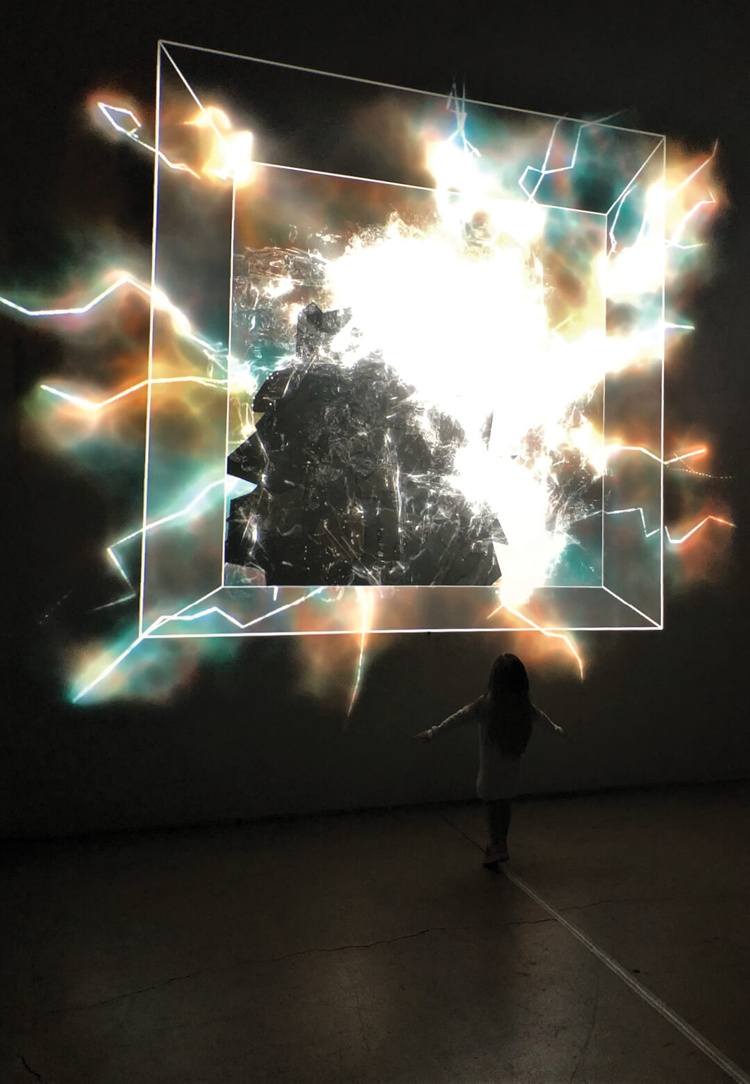 A glimpse of Bolton's interactive installation titled Potential Energy | Radii | Brett Bolton | STIRworld