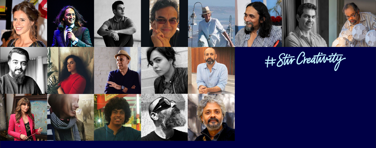 Artists and designers join hands for STIR Creativity x Bombay Sapphire