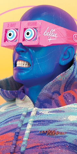 At the forefront of digital art with Vector Meldrew