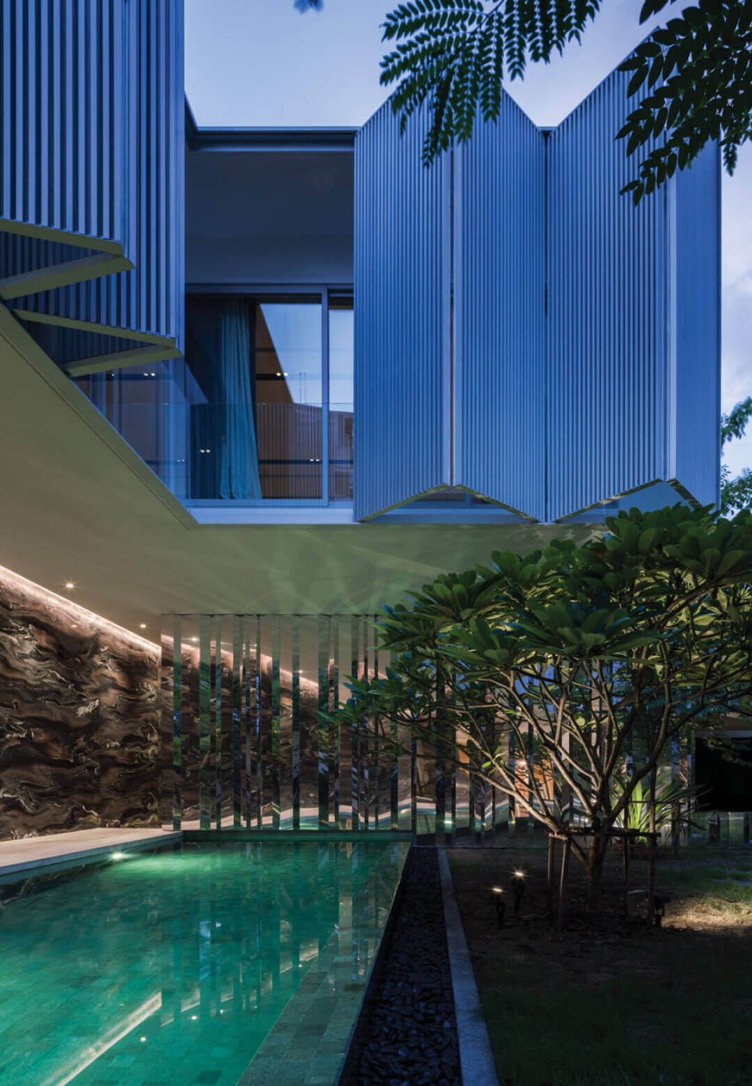 Ayutt and Associates design has designed Interlude House as a welcome break away from the every-bustling city of Bangkok   Interlude  House by Ayutt and Associates design   STIRworld